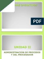 Unidad 2 Sistemas Operativos