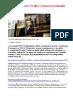 Cum a subminat Nicolae Ceauşescu economia naţională