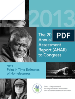 The 2013 Annual Homeless Assessment Report (AHAR) to Co