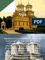 Manastirea Curtea de Arges prezentare cu imagini