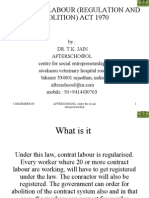 25885853 Contract Labour Regulation and Abolition Act 1970