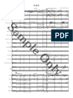 Sample Shuanyuan_sword Score