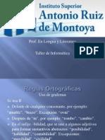 REGLAS ORTOGRÁFICAS_ TALLER DE INFORMÁTICA