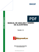 Manual de Analisis y Diseño de Algoritmos