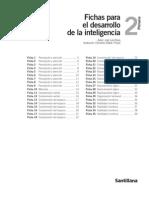 Fichas Para El Desarrollo de La Inteligencia Santillana 2
