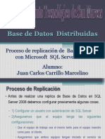 Replicacion de BD Con SQL Server 2008