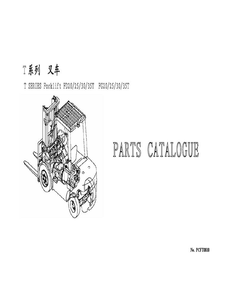 FD20-35T Parts Manual