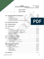 CEM PartVI-Chap3, Site Specific Design Conditions
