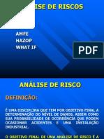 Análise+de+riscos