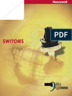 Honeywell - Pressure Switches Catalog