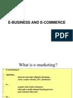E Marketing and Business