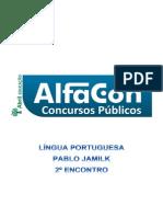 Alfacon Alan Comecando Do Zero Lingua Portuguesa Do Zero Pablo Jamilk 2o Enc 20131105064057