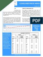 Consumer Price Index - Oct 13