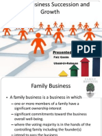 Family Business Succession Growth