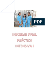 INFORME FINAL  PRÁCTICA INTENSIVA I
