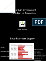 Dave Fullbrook - Green Built Environment - Evolution or Revolution