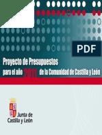 PRESENTACIÓN PROYECTO 2011presupuestos 2011
