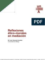 Reflexiones éticas en mediación