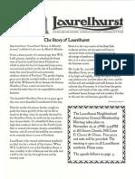 Laurelhurst Neighborhood Association Newsletter - November 2013