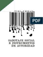 Sabotaje+Social Lectura