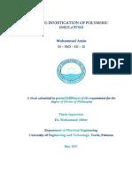 Aging Investigastion of Polymerc Insulators