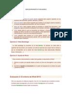 Ejercicio Propuesto y Evaluacion 2