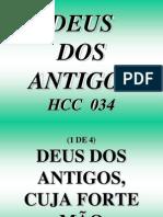 Hcc 034 - Deus Dos Antigos