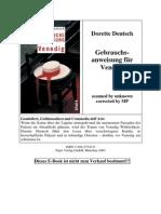 Dorette Deutsch - Gebrauchsanweisun - Venedig