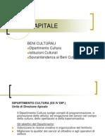 7 ROMA CAPITALE - Il Dipartimento Cultura