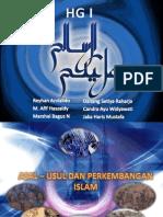 HG II Asal - Usul Dan Perkembangan Islam