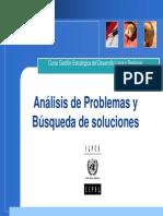 Analisis de Problemas y Busqueda de Soluciones