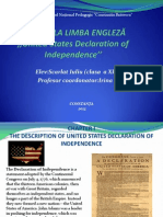 United States Declaration of Independence-2003