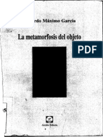 La Metamorfosis Del Objeto- G.M.garcia