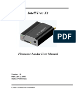 Firmware Uploading User Manual for x1
