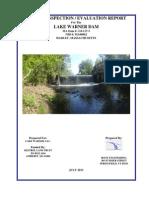 MA00062 Lake Warner Dam Hadley Phase II 2013-7-15
