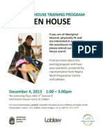 Warehouse Training Program Open House - Dec 4, 2013