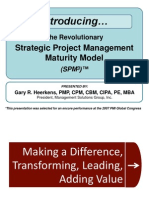 strategic project management maturity model (spm3) - gary heerkens
