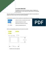 Diagramas de Interaccion en MathCAD