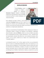 Neoplatonismo Informe Final