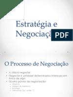 Estratégia e Negociação