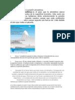 Factores que afectan la presiÓn atmosférica