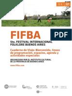 Cuaderno de Viaje FIFBA 2013