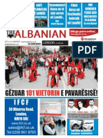 The Albanian in London 25th of November 2013