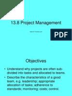 13.8Project Management