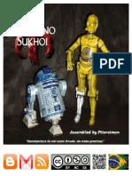 R2-D2 & C-3PO Com Linhas