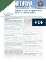 PREGUNTAS Y RESPUESTAS Responsabilidad Por La Funcion Publica