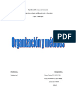 Organizacion y Metodos II