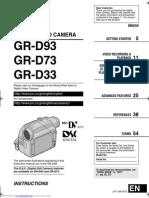 JVC Video Camera Manual