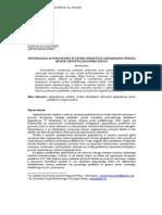 Optymalizacja podatkowa w teorii i praktyce zarządzania wiedzą bezpieczeństwa ekonomicznego