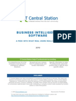 BI Software Report From IT Central Station